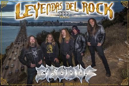 exodus leyendas del rock 2022