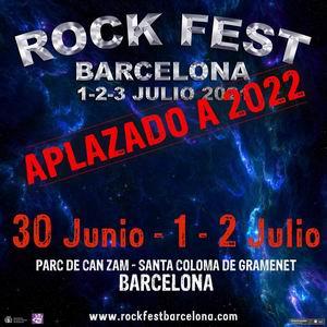 rock fest aplazado a 2022