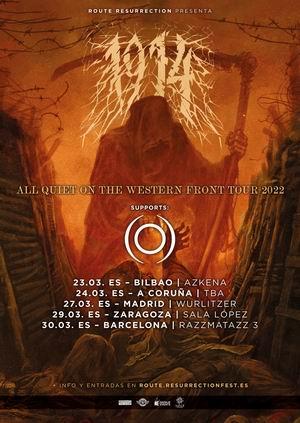 1914 gira española route resurrection