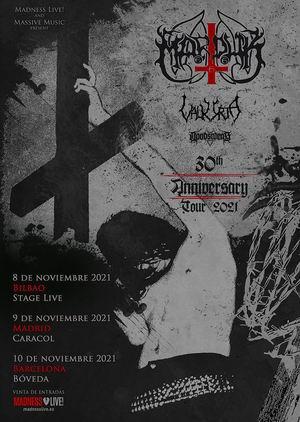 marduk gira 30 aniversario noviembre 2021