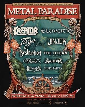 metal paradise fuengirola 2021