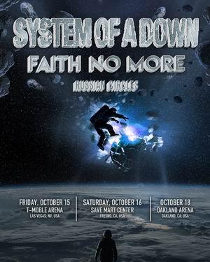 system of a down faith no more conciertos estados unidos