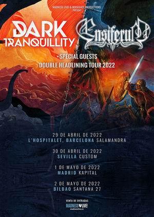dark tranquillity ensiferum gira 2022