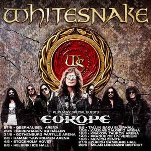whitesnake europe gira europea 2022