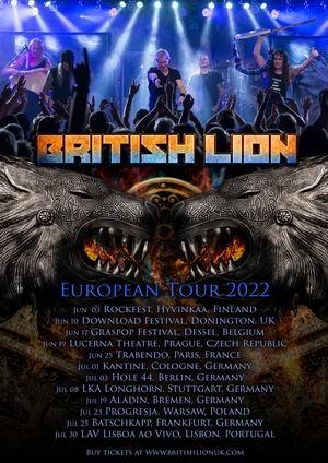 british lion gira europea clubs